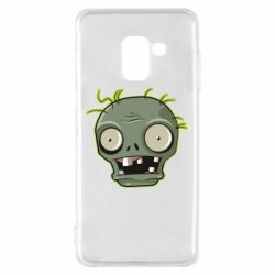 Чохол для Samsung A8 2018 Plants vs zombie head