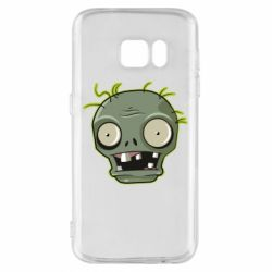 Чохол для Samsung S7 Plants vs zombie head