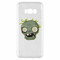 Чохол для Samsung S8 Plants vs zombie head