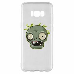 Чохол для Samsung S8+ Plants vs zombie head