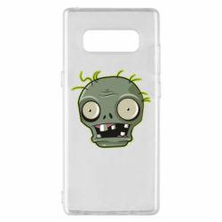 Чохол для Samsung Note 8 Plants vs zombie head