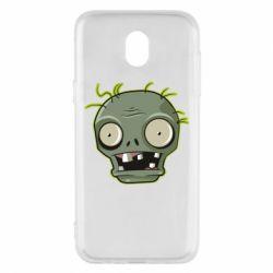 Чохол для Samsung J5 2017 Plants vs zombie head