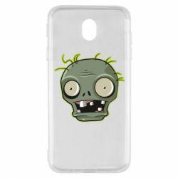 Чохол для Samsung J7 2017 Plants vs zombie head