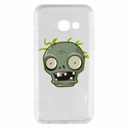Чохол для Samsung A3 2017 Plants vs zombie head