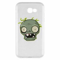 Чохол для Samsung A7 2017 Plants vs zombie head