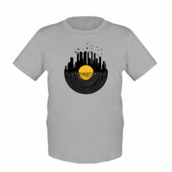 Детская футболка Пластинка - FatLine