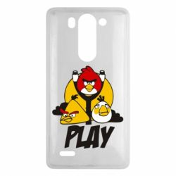 Чехол для LG G3 mini/G3s Play Angry Birds - FatLine