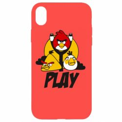 Чехол для iPhone XR Play Angry Birds - FatLine