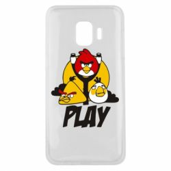 Чехол для Samsung J2 Core Play Angry Birds - FatLine