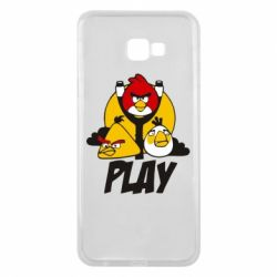 Чехол для Samsung J4 Plus 2018 Play Angry Birds - FatLine