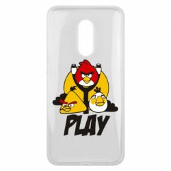 Чехол для Meizu 16 plus Play Angry Birds - FatLine
