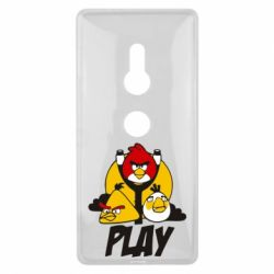 Чехол для Sony Xperia XZ2 Play Angry Birds - FatLine