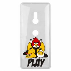 Чехол для Sony Xperia XZ3 Play Angry Birds - FatLine