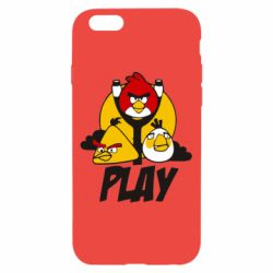 Чехол для iPhone 6/6S Play Angry Birds - FatLine