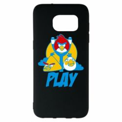 Чехол для Samsung S7 EDGE Play Angry Birds - FatLine