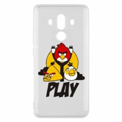 Чехол для Huawei Mate 10 Pro Play Angry Birds - FatLine