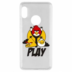 Чехол для Xiaomi Redmi Note 5 Play Angry Birds - FatLine