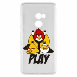 Чехол для Xiaomi Mi Mix 2 Play Angry Birds - FatLine