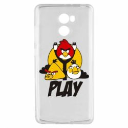 Чехол для Xiaomi Redmi 4 Play Angry Birds - FatLine