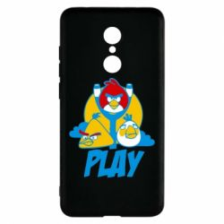 Чехол для Xiaomi Redmi 5 Play Angry Birds - FatLine