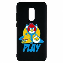 Чехол для Xiaomi Redmi Note 4 Play Angry Birds - FatLine