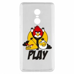 Чехол для Xiaomi Redmi Note 4x Play Angry Birds - FatLine