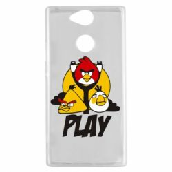 Чехол для Sony Xperia XA2 Play Angry Birds - FatLine