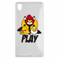 Чехол для Sony Xperia Z1 Play Angry Birds - FatLine