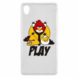Чехол для Sony Xperia Z2 Play Angry Birds - FatLine