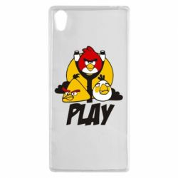 Чехол для Sony Xperia Z5 Play Angry Birds - FatLine