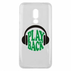 Чехол для Meizu 16 Play Back - FatLine