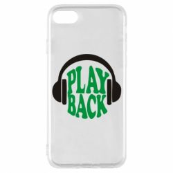 Чехол для iPhone 7 Play Back - FatLine