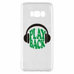Чехол для Samsung S8 Play Back - FatLine