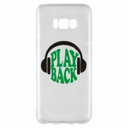 Чехол для Samsung S8+ Play Back - FatLine