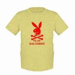 Детская футболка Play dalnoboy