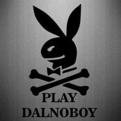 Наклейка Play dalnoboy