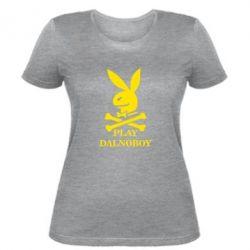 Женская футболка Play dalnoboy
