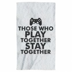 Рушник Play together
