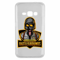 Чехол для Samsung J1 2016 Player unknown battle grounds