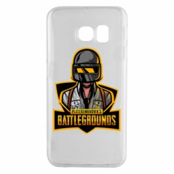 Чехол для Samsung S6 EDGE Player unknown battle grounds