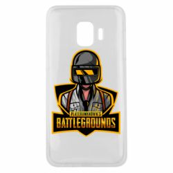 Чехол для Samsung J2 Core Player unknown battle grounds