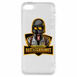 Чехол для iPhone5/5S/SE Player unknown battle grounds