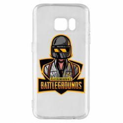 Чехол для Samsung S7 Player unknown battle grounds