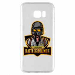 Чехол для Samsung S7 EDGE Player unknown battle grounds