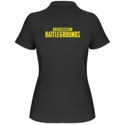 Купить Женская футболка поло Players unknown battle grand, FatLine