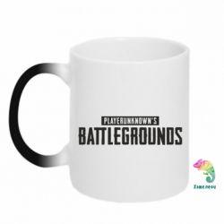 Купить Кружка-хамелеон Players unknown battle grand, FatLine