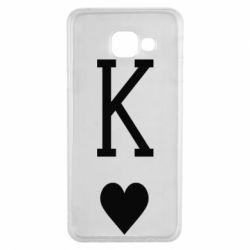 Чохол для Samsung A3 2016 Playing Cards King