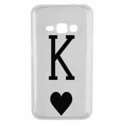 Чохол для Samsung J1 2016 Playing Cards King