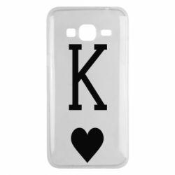 Чохол для Samsung J3 2016 Playing Cards King
