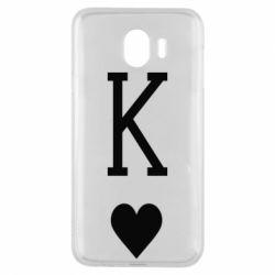 Чохол для Samsung J4 Playing Cards King